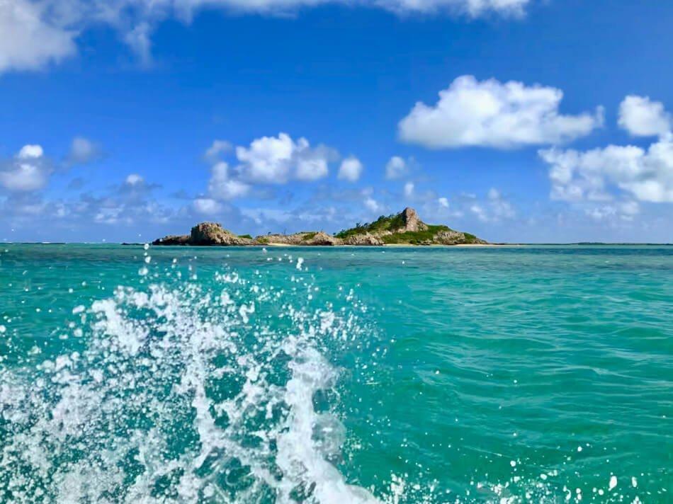 sea view of Mauritius