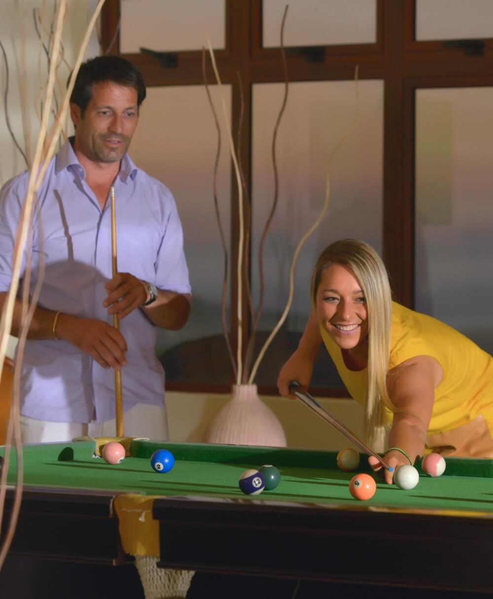 Snooker Table - Les Mariannes